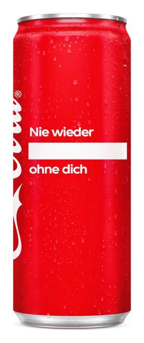 Nie wieder ____ ohne dich - Coca-Cola Das Original