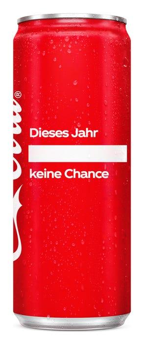 Dieses Jahr ____ keine Chance - Coca-Cola Das Original