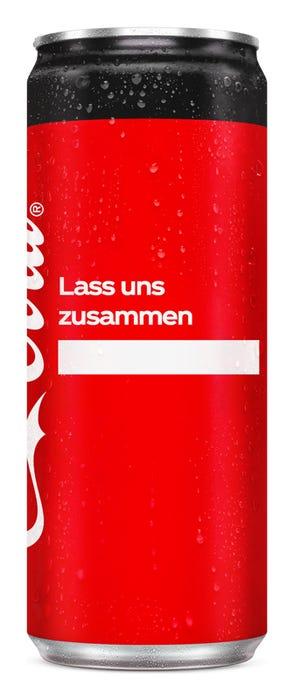 Lass uns zusammen ____ - Coca-Cola Zero Sugar